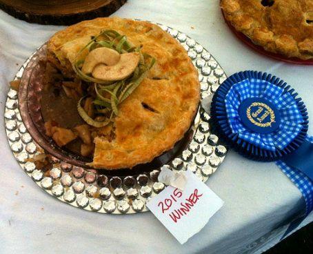 Norma's Carmel Walnut Apple Pie