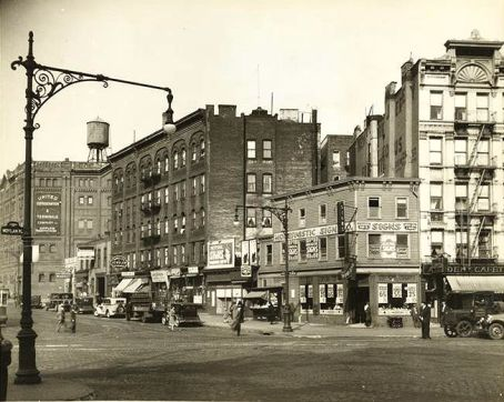 115th street and amsterdam avenue in harlem