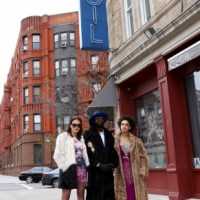 Salters Scene: Dannis Winston At The Cecil In Harlem New York