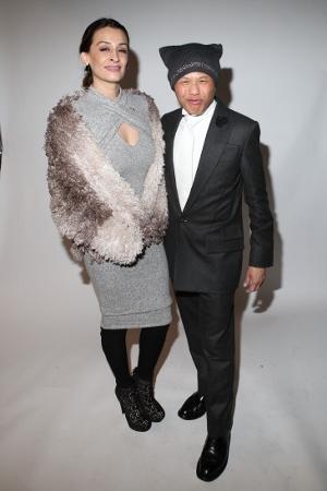 Arzo Anwar and Designer Zang Toi