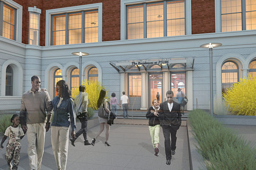 PS186 Residential Entry Rendering