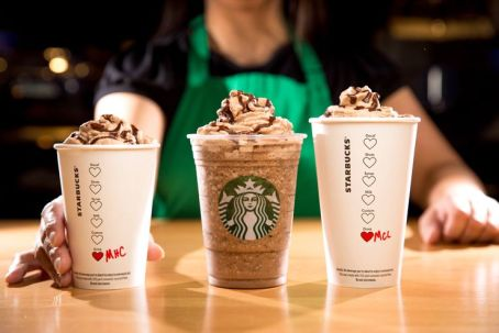 starbucks new drinks for valenines day