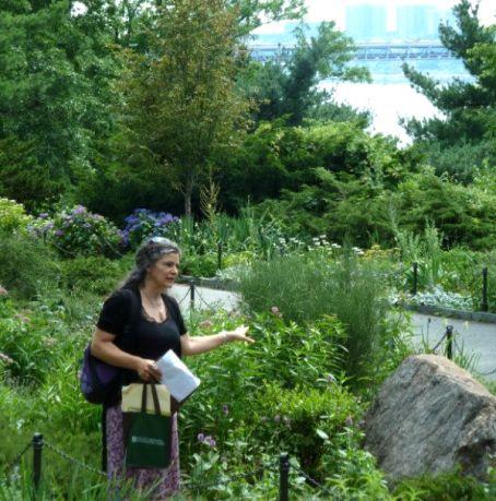 public garden designer Ronda M Brands