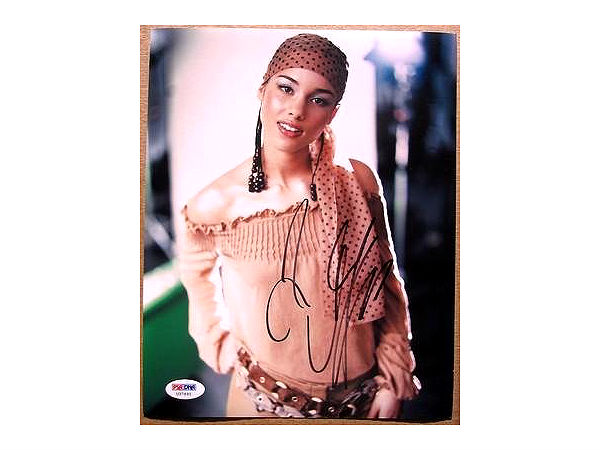 alicia keys signed photo1