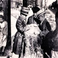 'The Tree Of Hope' Kids On 131st Street In Harlem NY 1937