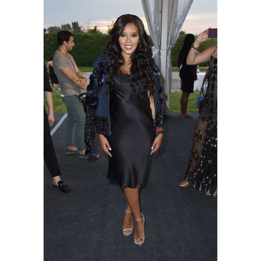 BRIDGEHAMPTON, NY - JULY 16: Angela Simmons attends Rush Philanthropic Arts Foundation's 2016 ART FOR LIFE Benefit at Fairview Farms on July 16, 2016 in Bridgehampton, New York. (Photo by Nicholas Hunt/Getty Images for Rush Philanthropic Arts Foundation)
