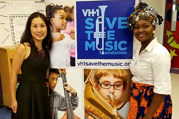 A Generous Investment From VH-1 Save The Music & TYLENOL® Brings Classical Music To Harlem School
