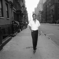 "James Baldwin On ""Beautiful"" Harlem Streets NY 1963"
