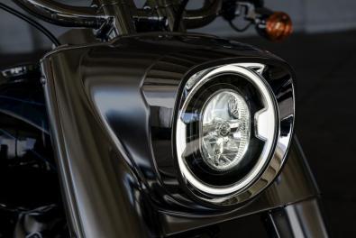 Motocykel Harley-Davidson Softail Fat Boy 115 výročie
