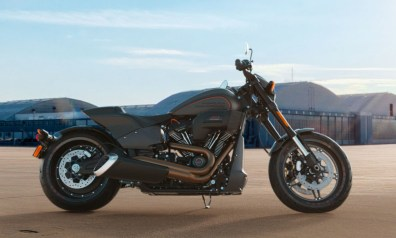 Motocykel Harley-Davidson Softail FXDR 114 farba Industrial Gray Denim
