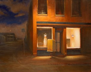 Night Wander 61 x 76 Oil on Belgian Linen