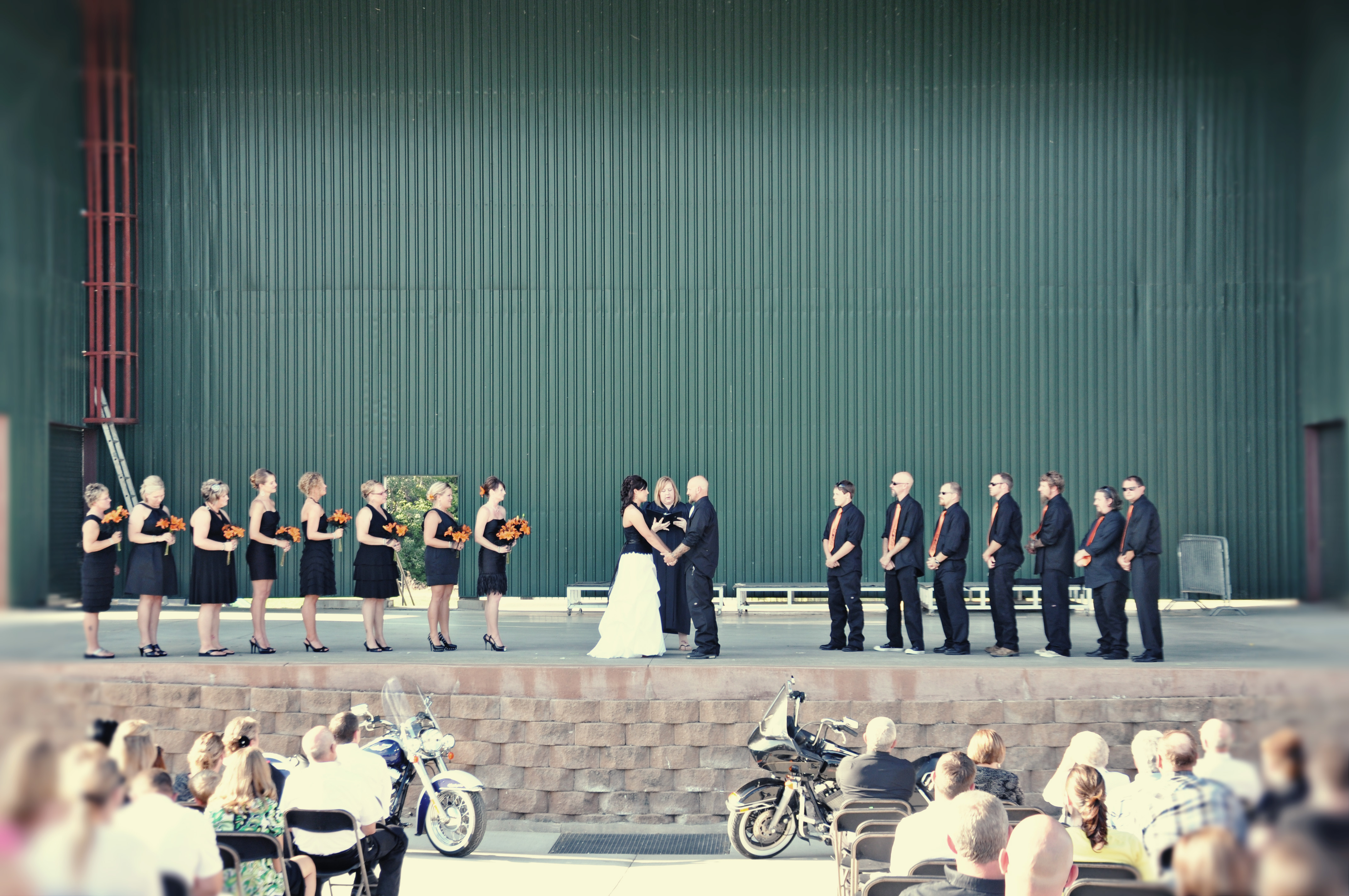 our harley davidson wedding part 2 harley davidson wedding rings Image