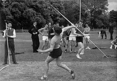 EGS Sports Day-John Stammers at rear