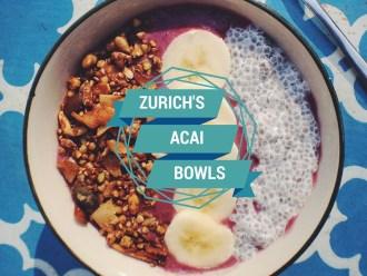 Wo bekommt man Açai Bowls in Zürich