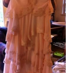 Lauren skirt almost complete