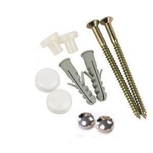WC toilet pan fixing kit