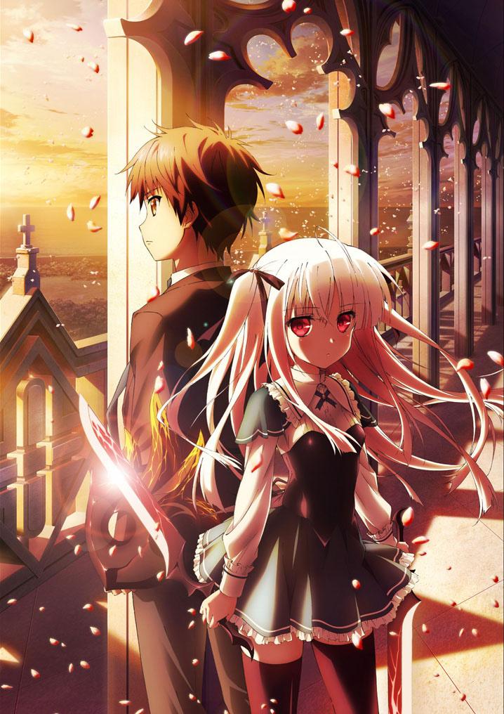 Absolute Duo Anime Visual haruhichan.com Takumi Hiiragiboshi Absolute Duo anime series