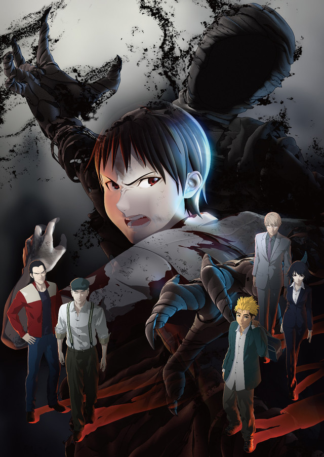 Ajin anime visual