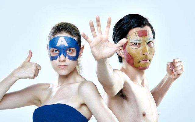 Attack on Titan Beauty Face Packs to Hit Japan Stores Marvel Face pack 2