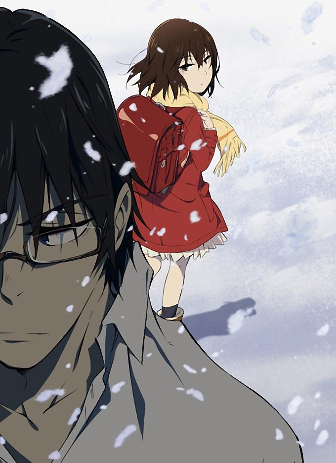 Boku dake ga Inai Machi anime visual