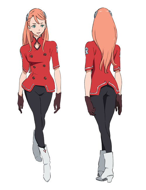Gundam G no Reconguista Character Designs Aiida Reihanton Gundam: G no Reconguista Visual, Video, Character Designs, Mech Designs and Cast Revealed