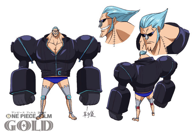 One Piece Film Gold Character Designs 0008