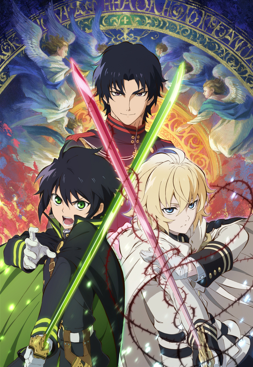 Owari no Seraph Anime Visual haruhichan.com Seraph of the End anime visual