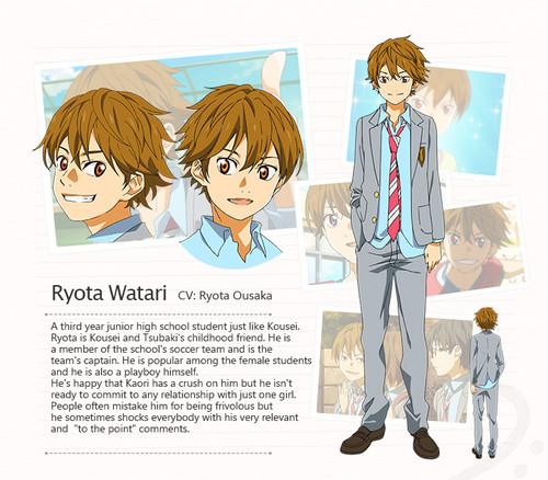 Shigatsu wa Kimi no Uso Ryota Watari haruhichan.com Your Lie in April anime