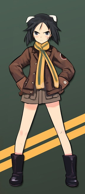 Strike-Witches-502nd-Joint-Fighter-Wing-Kanno-Naoe