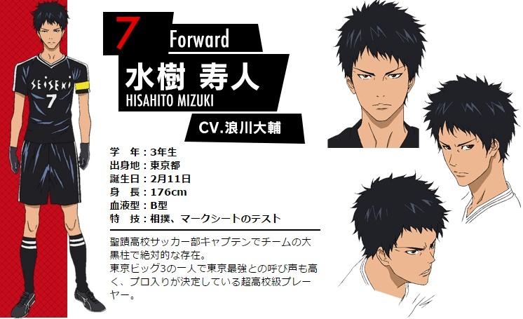 Support Cast for Days TV Anime Announced Hisahito Mizuki