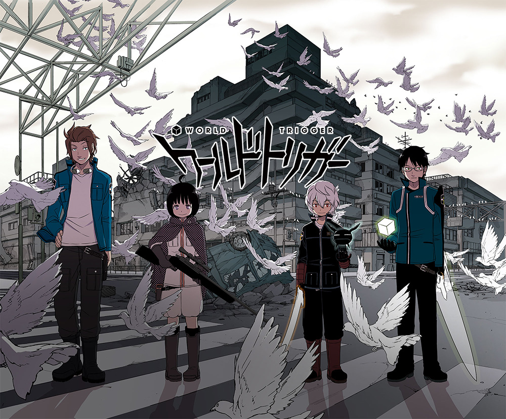 World Trigger Anime Visual World Trigger Cast Announced