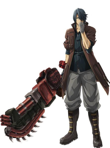 god eater anime character design Rindou Amamiya