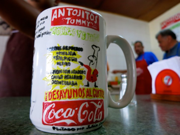 Antojitos is the place to eat breakfast and lunch in Parral.