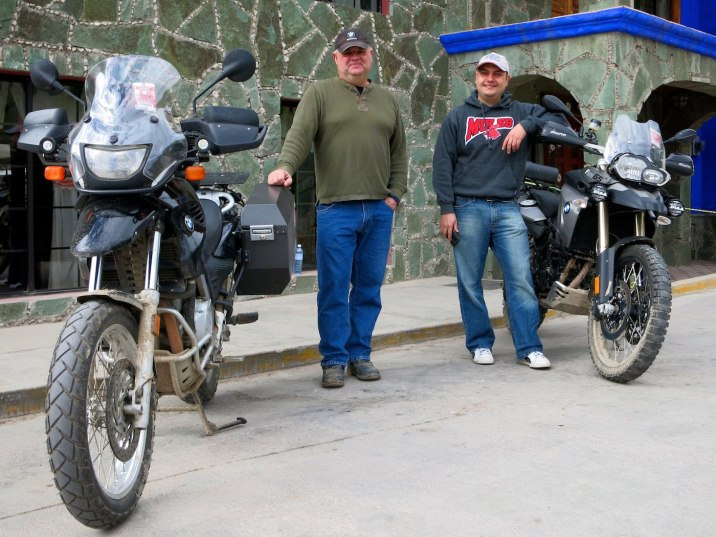 I met these adventure riders from Missouri who plan to ride the dirt road to Urique and then on to Batopilas.