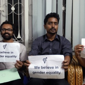 We believe in gender equality