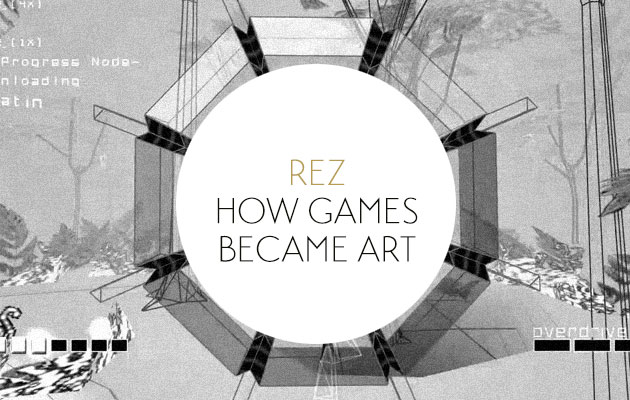 Rez, the video game