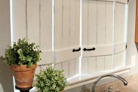 10 kitchen window treatments