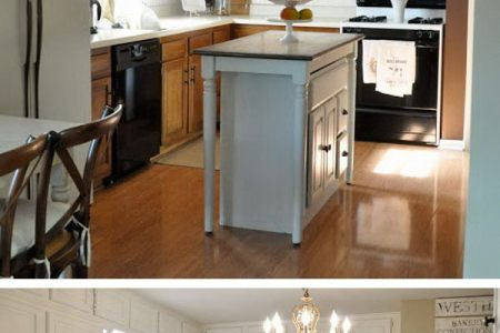 24 25 before and after kitchen makeover