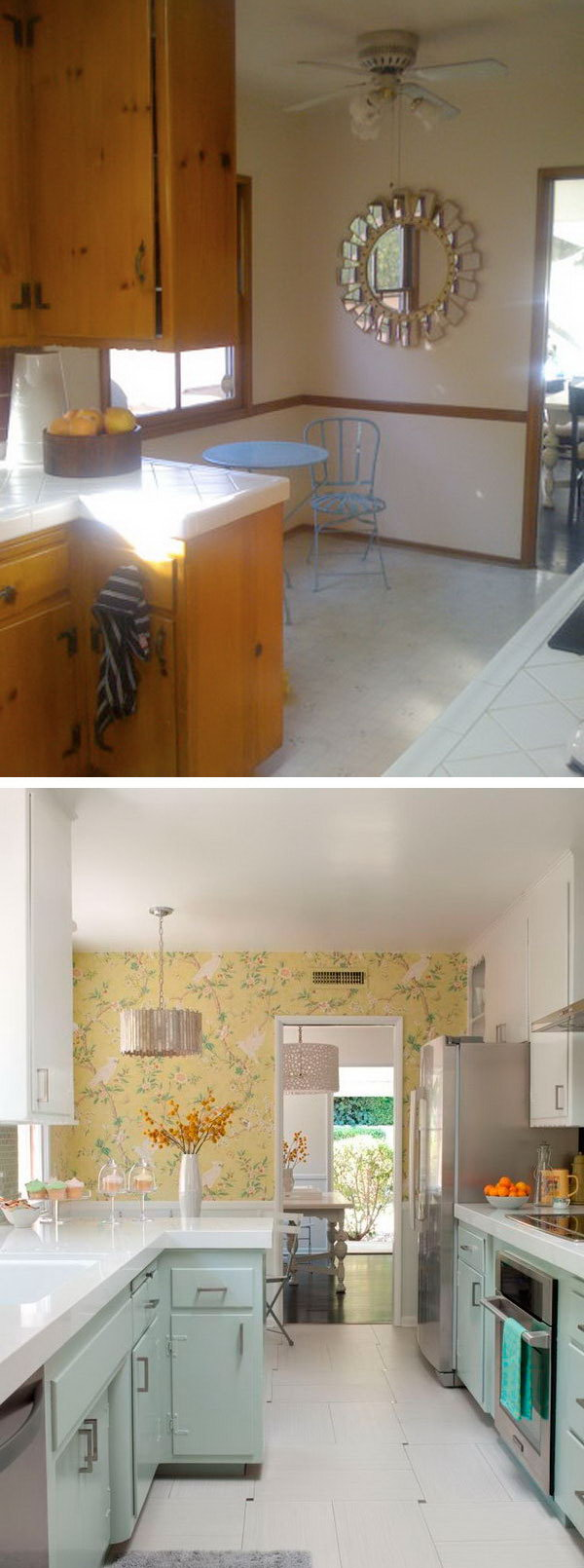 before and after kitchen makeover ideas kitchen makeover ideas Before After A s Kitchen Gets An Affordable Upgrade Unbelievable renovation with a