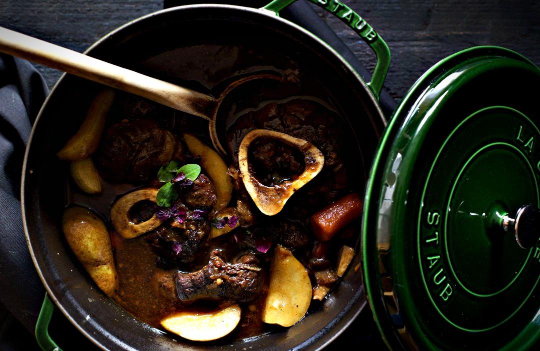 Asiatische Beinscheibe Herbstküche