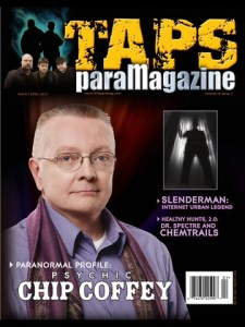 TAPS paranormal magazine