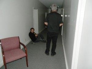 John And Tommy on the 3rd Floor of Jordan Springs