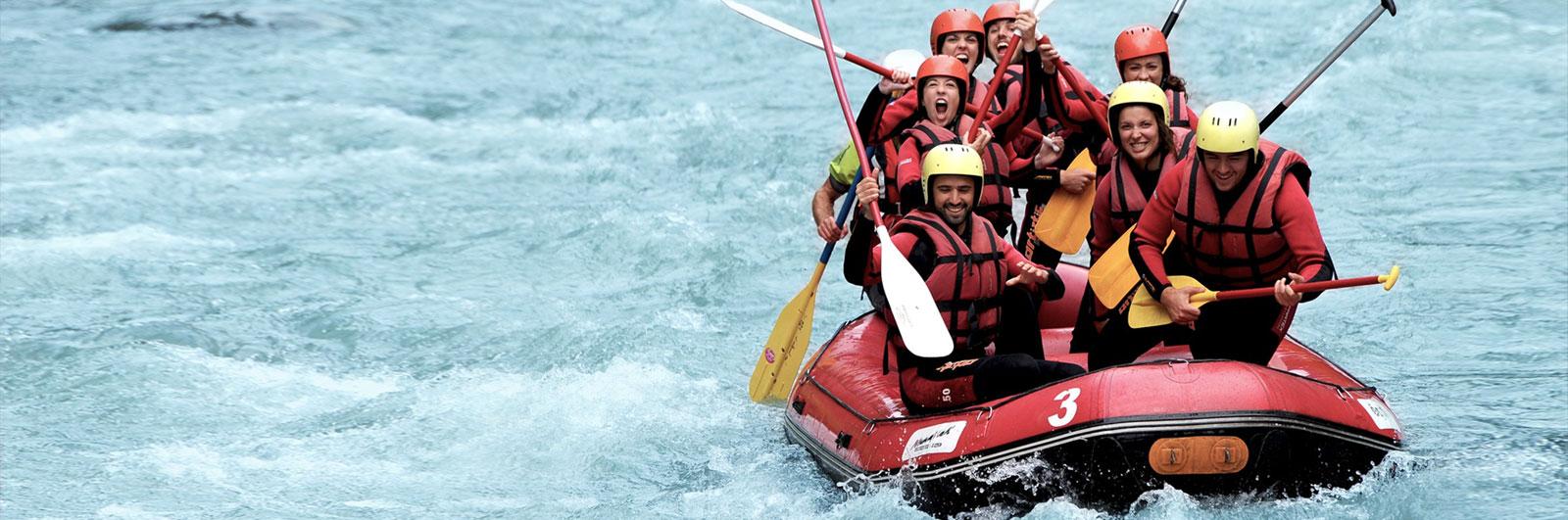 nunayak rafting - canyoning alpes haute savoie 74
