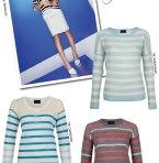 Line Knitwear Spring Campaign + Loving Stripes