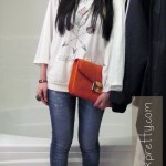 Marc Jacob Bianca Clutch + Public Library Hoodie
