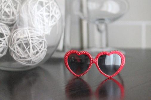 Kristin Perry Red Swarovski Crystal Lolita Style Fashion Sunglasses