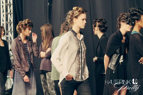 BCBGMaxazria Runway SS13 Backstage Behind the Scenes - Model Call