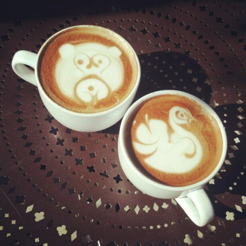 Adorableness at Urth Caffe