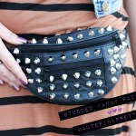 DIY Studded Fanny Pack
