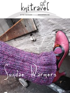 Sundae Warmers knitting pattern by Knitravel
